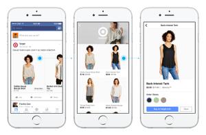 Facebook entra de lleno en el comercio electrónico con dos nuevos formatos publicitarios