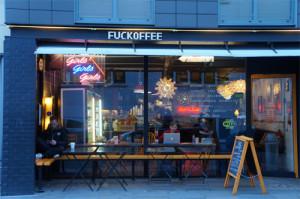 Fuckoffee, la cafetería a la que no dejan llamarse como le da la real e