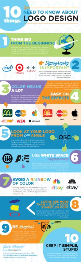 Diseño de logos para principiantes: 10 consejos para dar esquinazo a las novatadas
