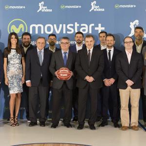 Movistar + presenta su acuerdo con la ACB