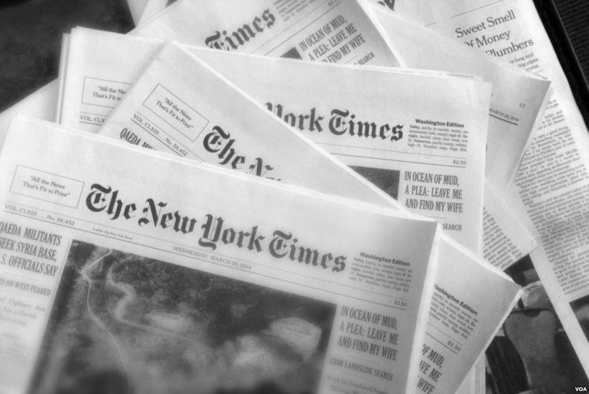 The New York Times experimenta el mayor incremento de suscriptores digitales desde 2012