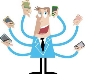 Los internautas mexicanos, adictos al móvil y a las redes sociales