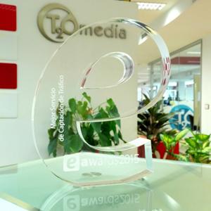 El Mejor Servicio de Captación de Tráfico es el de T2O media según #eshowmad15