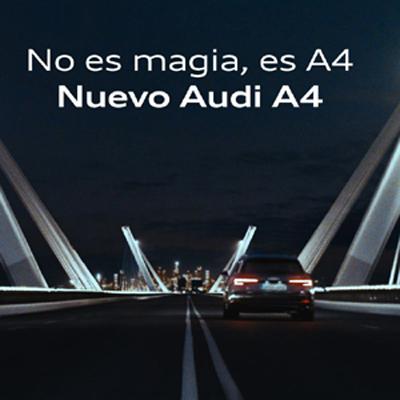 DDB España crea la campaña mundial del lanzamiento del nuevo Audi A4