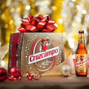 Cruzcampo lanza una nueva edición de su cerveza especial para brindar por la Navidad