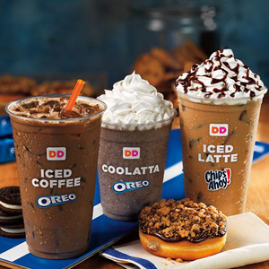 Dunkin'+Donuts+Oreo+Iced+Coffee+Oreo+Coolatta+and+Chips+Ahoy+Iced+Latte2