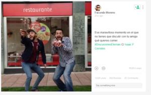 #Discusiones Eternas, la última campaña de Telepizza en Vine