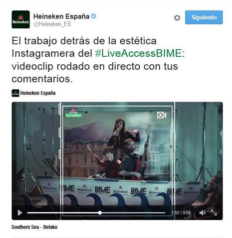 HEINEKEN_PRIMER VIDEO CLIP EN DIRECTO EN INSTAGRAM 04