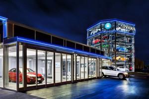 Inserte moneda: la cadena de concesionarios Carvana crea una máquina expendedora de coches
