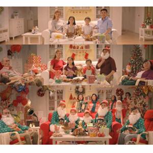 familias ikea navidad