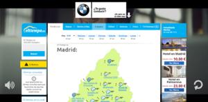 Sizmek estrena el formato VideoBackground HTML5 para BMW en ElTiempo.es