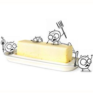 Por qué la humilde mantequilla es un producto de lujo en Japón