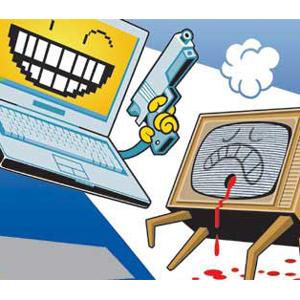 television tv video online digital tradicional