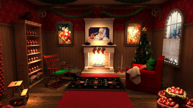 Coca-Cola invita a los más pequeños a descubrir los rincones mágicos de la casa de Papá Noel
