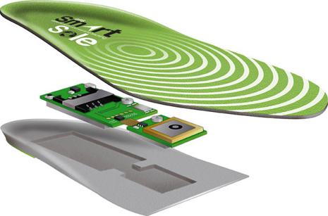 GPS Smart Sole