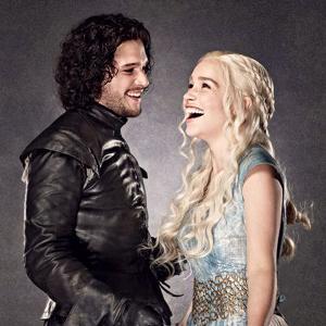 juego de tronos jon snow daenerys targaryen madre de dragones kit harrington emilia clarke