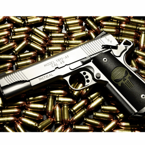 armas pistola balas