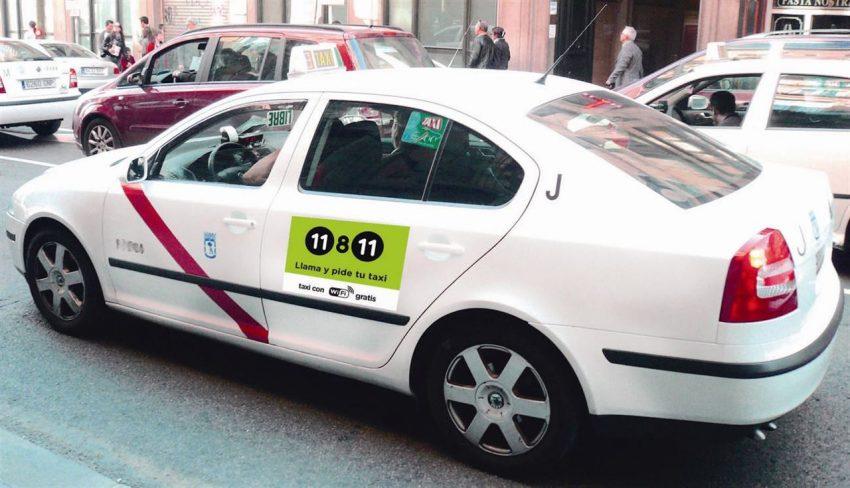 El WiFi gratuito aterriza en los taxis madrileños