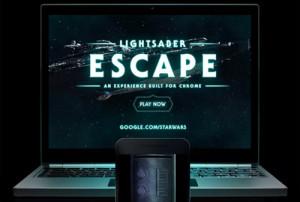 ¿Fanático de Star Wars? Esta web le permite convertir su smartphone en un sable de luz