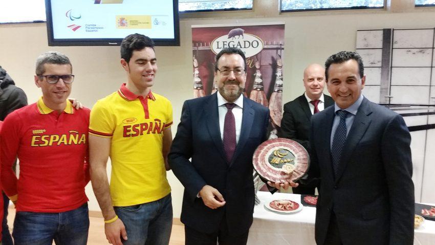 ElPozo Alimentación apoya al equipo paralímpico español en su camino a Río 2016