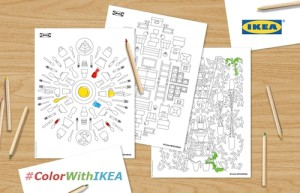IKEA crea un libro de ilustraciones con sus productos más icónicos