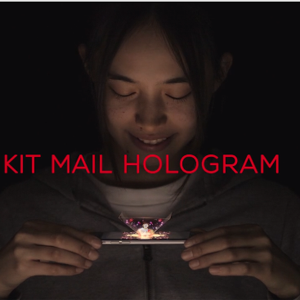 Kit Kat Mail Hologram