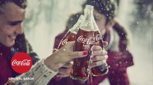 #SienteElSabor de la nueva campaña de Coca-Cola pieza a pieza