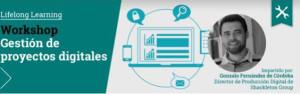 Workshop de gestión de proyectos digitales
