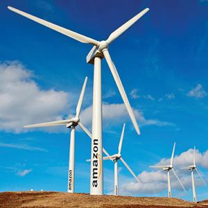 amazon web services parque eolico energias renovables sostenibilidad