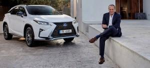 Lexus aprovecha el tirón mediático de Bertín Osborne y lo convierte en embajador de marca