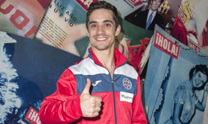 Exhibición de Javier Fernández, campeón del mundo, en la pista de hielo ¡HOLA!
