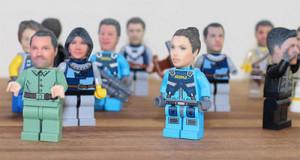 ¿Su cabeza en una figura de Lego? Ya es posible gracias a esta original idea