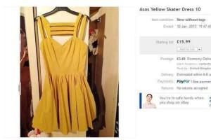 Una chica sube una foto de ella misma desnuda por error a eBay