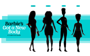 Los nuevos modelos de Barbie: los más realistas de su historia