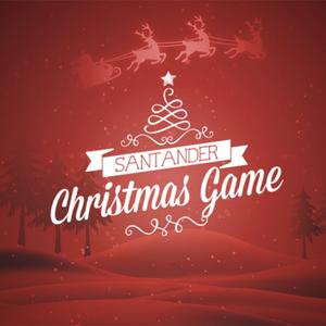 santander christmas game
