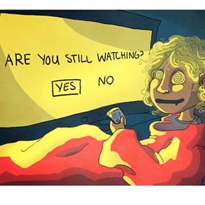 series binge watching