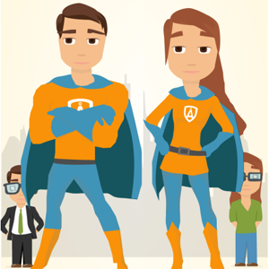 superheroes marketeros marketing