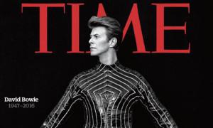 Oda al maestro Bowie en la nueva portada de la revista Time