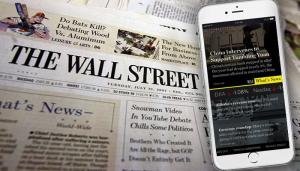 El Wall Street Journal centra su estrategia de crecimiento en el móvil