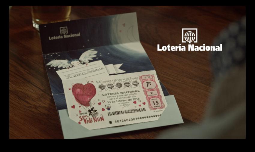 Lotería Nacional y Contrapunto BBDO ponen en la calle la campaña del sorteo de San Valentín