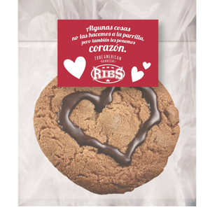 cookie san valentín ribs