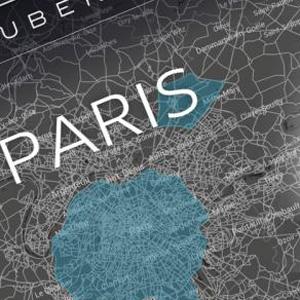 """Uber """"apaga el motor"""" en París en apoyo a las protestas de los conductores"""