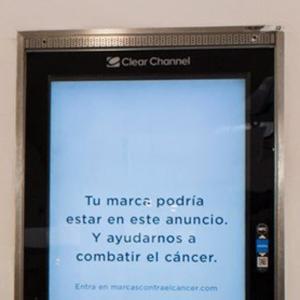 """Clear Channel se une a la campaña """"Marcas contra el cáncer"""""""