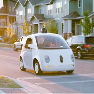 coche no tripulado Google
