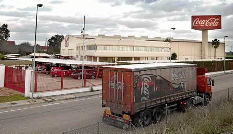 Sevilla 27 01 2014: Fabrica de cocacola FOTO:J.M.PAISANO