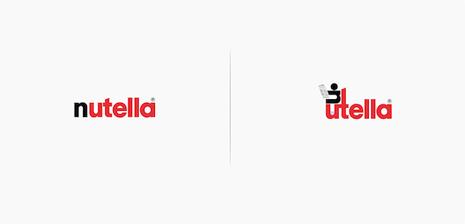 nutella logos