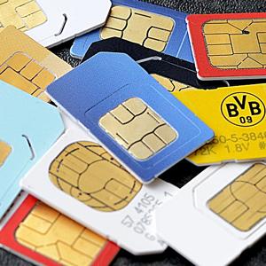 tarjetas SIM card