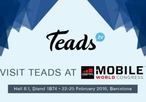 Teads presenta en el Mobile World Congress un nuevo formato de vídeo vertical