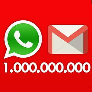 whatsapp y gmail
