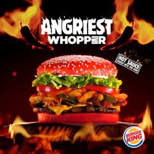 Burger King sigue apostando fuerte por el picante: llega la